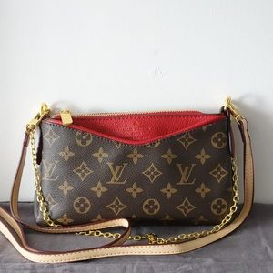 Louis Vuitton pallas red monogram
